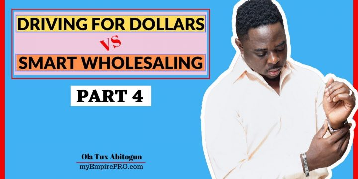 [Part 4] Driving for Dollars vs Smart Wholesaling 📍 7 PROCESSES TO SETUP FOR SMART WHOLESALING