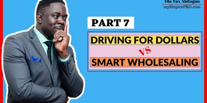 [Part 7] Driving for Dollars vs Smart Wholesaling 📍 Personal Branding & Attracting Deals for FREE