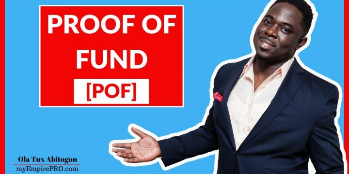 PROOF OF FUNDS [POF]📍 Wholesaling Real Estate