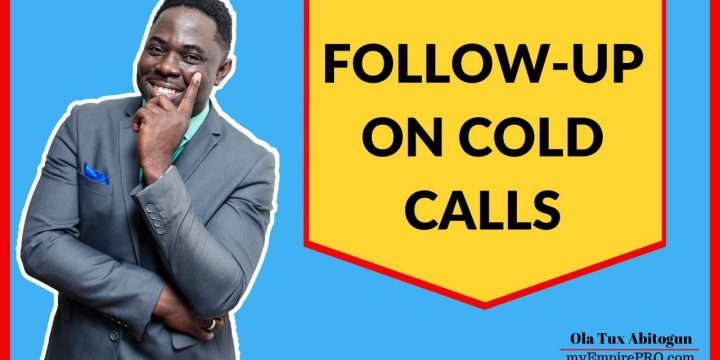 FOLLOW-UP ON COLD CALLS📍 Wholesaling Real Estate