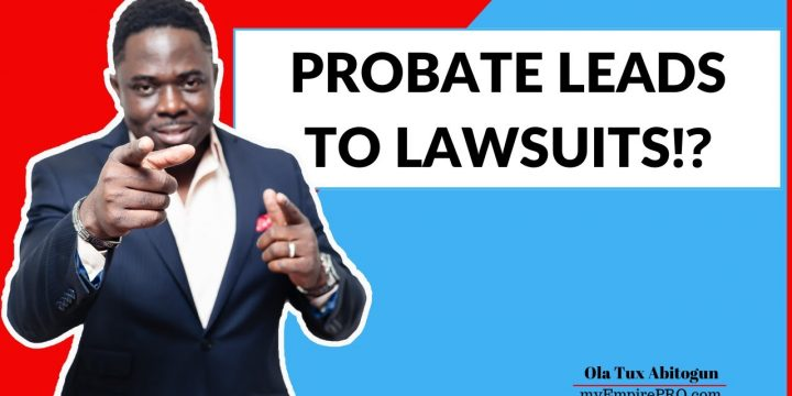 PROBATE LEADS TO LAWSUITS⁉️📍 Wholesaling Real Estate