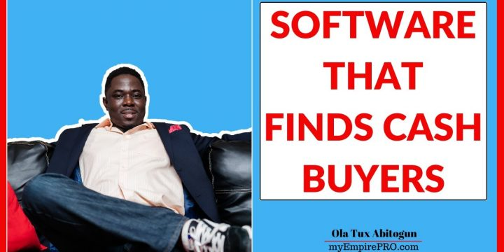 SOFTWARE THAT FINDS CASH BUYERS⁉️📍 Real Estate Wholesaling