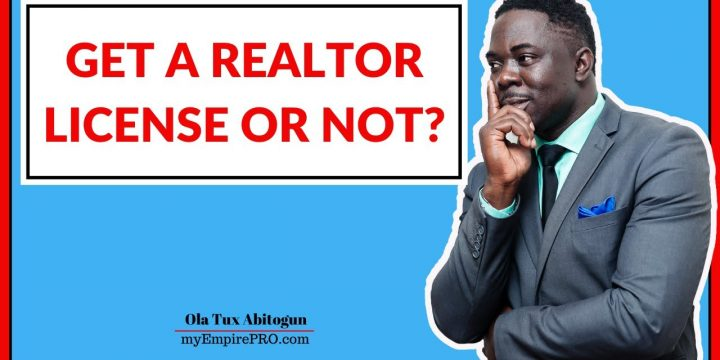 GET A REALTOR LICENSE OR NOT? 📍 Real Estate Wholesale
