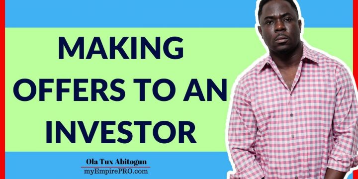 MAKING OFFERS TO AN INVESTOR📍 Wholesaling Real Estate