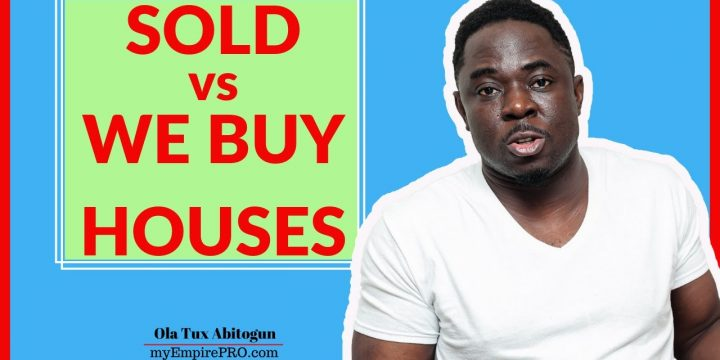 SOLD vs WE BUY HOUSES 📍 Wholesaling Real Estate