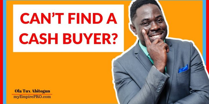 CAN'T FIND A CASH BUYER? 📍 Wholesale Real Estate