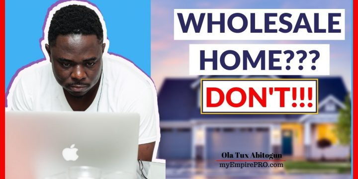 Wholesale Homes⁉️ DON'T TRY iT Unless You Know these 3 SECRETS