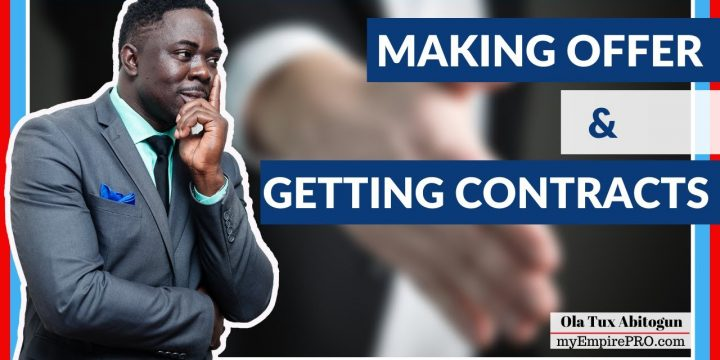3 Steps of Making Offers & Locking in Profitable Real Estate Wholesaling Contracts📍
