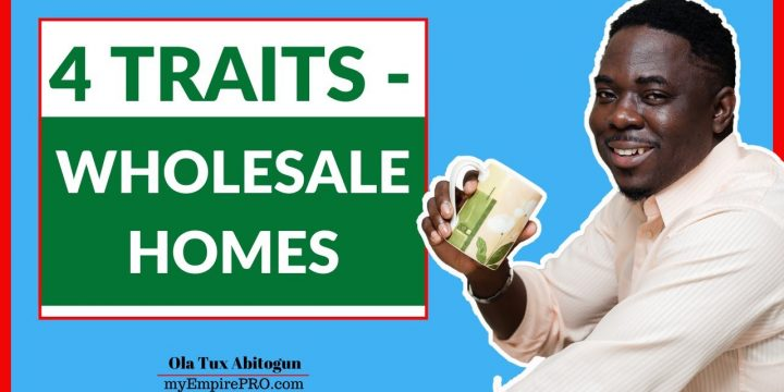 4 Traits of a Fast Growing Wholesale Homes Sale Inventory📍