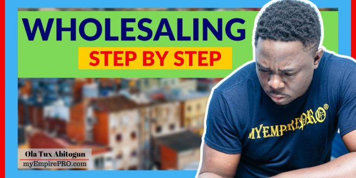 7 Steps Definite GUIDE to Real Estate Wholesaling Step by Step📍