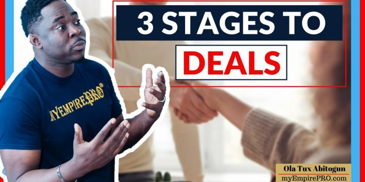 3 Stages to Conquer Before Wholesale Real Estate Deals📍