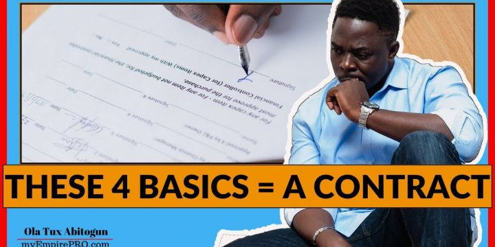 4 Basic Parts of a Real Estate Wholesaling Contract📍