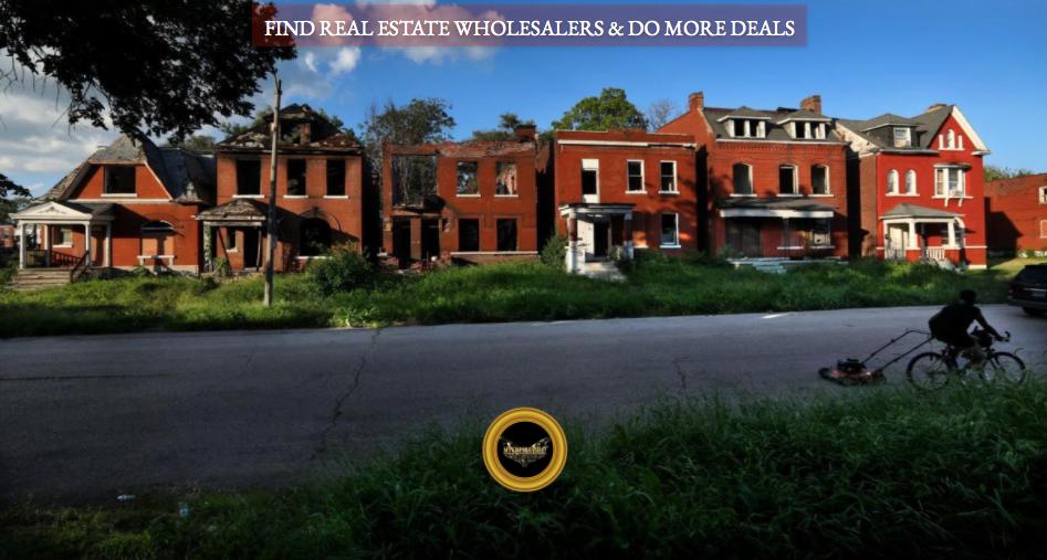 find real estate wholesalers