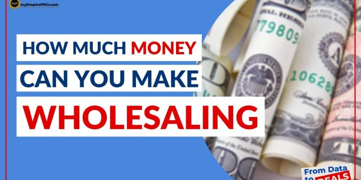 How Much MONEY Can You Make WHOLESALING?